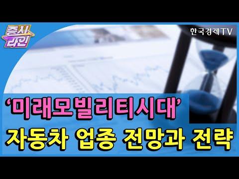'미래모빌리티시대' 자동차 업종 전망과 전략  / 한국경제TV / 증시라인