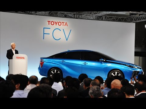 Briefing on Toyota's Fuel Cell Vehicle Development