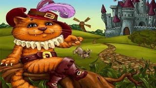 🐱👦Сказки для детей. Ш. Перро.  Кот в сапогах - сказка для детей. Часть2👑👸