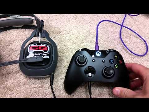 XBOX One 3.5mm Wireless Controller With ASTRO A40 Headset