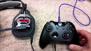xbox one 3 5mm wireless controller with astro a40 headset