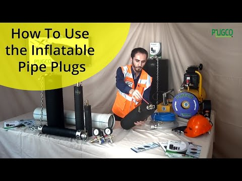 PlugCo | How to use the inflatable pipe plugs