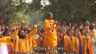 Radhey Radhey... Gavo Chin Chin Nam Radhey - Kirtan with Shree Kripalu Ji Maharaj