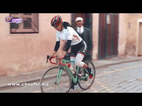 من وجدة..بطلة مغربية في سباق الدراجات تطالب المسؤولين بمساعدة الشباب