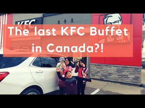 KFC Buffet In Canada Weyburn Saskatchewan | Eat All You Can