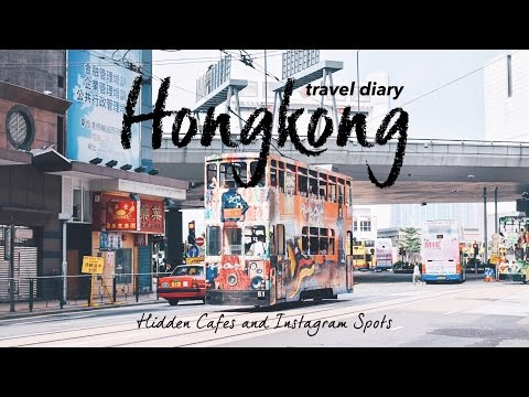 Hongkong Travel Diary ◇ Hidden Cafes & Instagram Spots