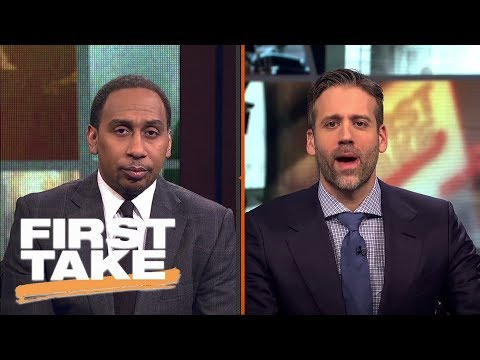 Stephen A. and Max argue where Eli Manning should go if he leaves Giants | First Take | ESPN