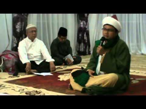 Tuangku Syaikh Muhammad Ali Hanafiah Ar Rabbani malam Nisfu Sya'ban tahun 1435 H