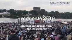 Breminale 2019 - Eindrücke vom Donnerstagabend