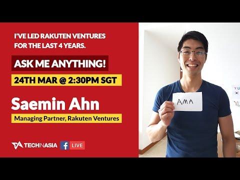 Facebook Live AMA with Rakuten Ventures' Saemin Ahn