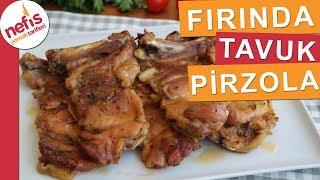 Fırında Tavuk Pirzola Tarifi - Lokum gibi pişiyor, az malzemeli çok pratik