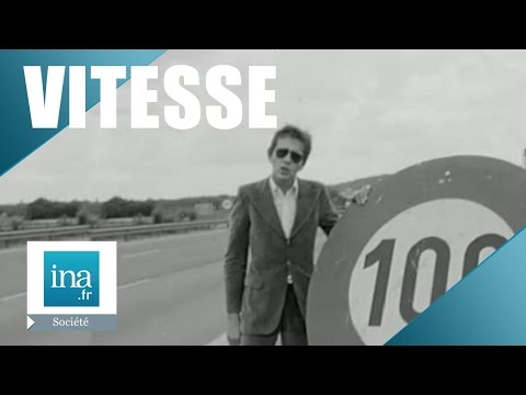 La limitation de vitesse sur les routes en France - Archive INA