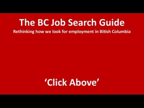 Introduction to the BC Job Search Guide 2014