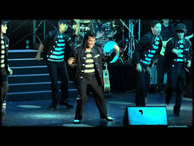 Mark Andrew - JAILHOUSE ROCK -Elvis Leaves His Mark! - The Palms at Crown 2013