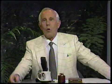 Johnny Carson interviews Tony Randall on May 9, 1990
