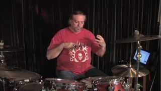 Rod Gibson Lynyrd Skynyrd  Drum Tech. Part 1