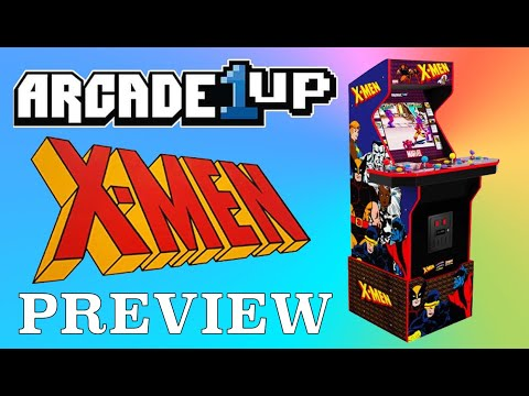 Arcade1Up X-Men Cabinet | Preview from Original Console Gamer