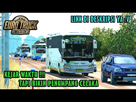 Mantan Driver Bus Sumber Grup, Saat Bawa Bus SCH - ETS2 MOD INDONESIA - 동영상