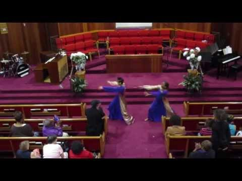 """""""Set The Atmosphere"""" Praise Dance by The Bell Sisters (at ADEBCPB15: We Are Victorious)"""
