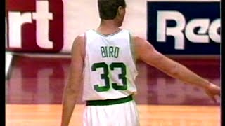 Larry Bird (28pts/7rebs/6asts) vs. Nets (1992)