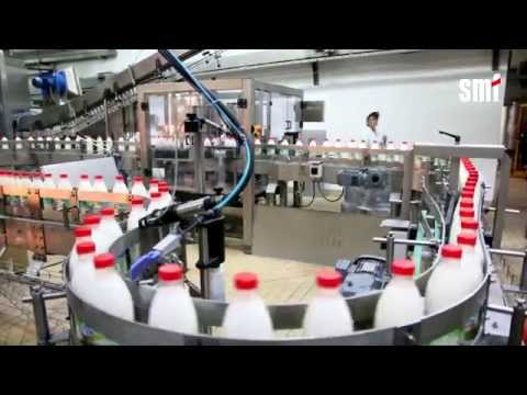 Complete Milk Bottling Line Made By SMF
