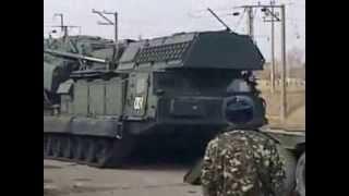 Армия. страшное зрелище   погрузка тяжелой инженерной машины