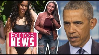 Captan a hija de Obama luciendo espectacular figura en Miami