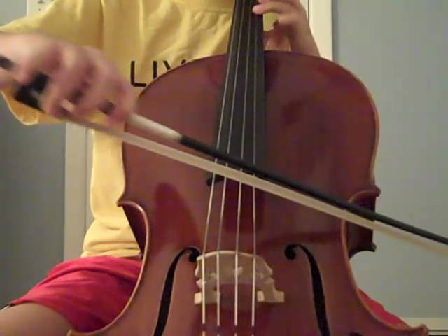 Me Playing My Cello