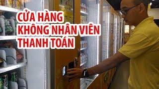 Cửa hàng KHÔNG NGƯỜI THANH TOÁN đầu tiên ở TPHCM
