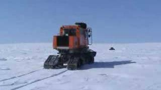 Yeti Robot with Tucker Sno-Cat
