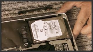 How to replace the hard drive on a 13
