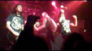 As I Lay Dying  - Anodyne Sea 29/11/10 The Garage Glasgow