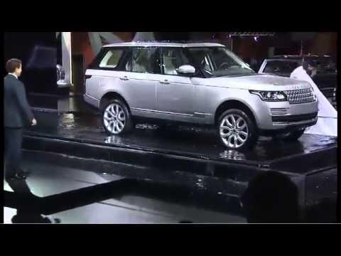 Land Rover North - 2012 Paris Motor Show.Press Conference