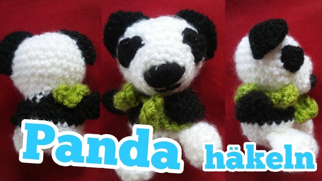 Zuckersüßen Panda Häkeln Youtube