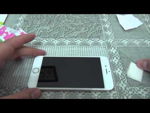 Как приклеить защитное стекло на айфон 7