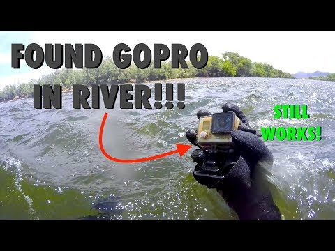 Thumbnail: River Treasure: Working GoPro, Fitbit, Ray-Bans, SPY Sunglasses, Wallet (AND GIVEAWAY WINNERS!)