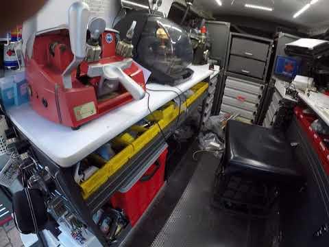 Locksmith Van Mobile Locksmith Workshop Ever Part 1 – Hyundai Iload