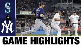 Mariners vs. Yankees Game Highlights (8/6/21)
