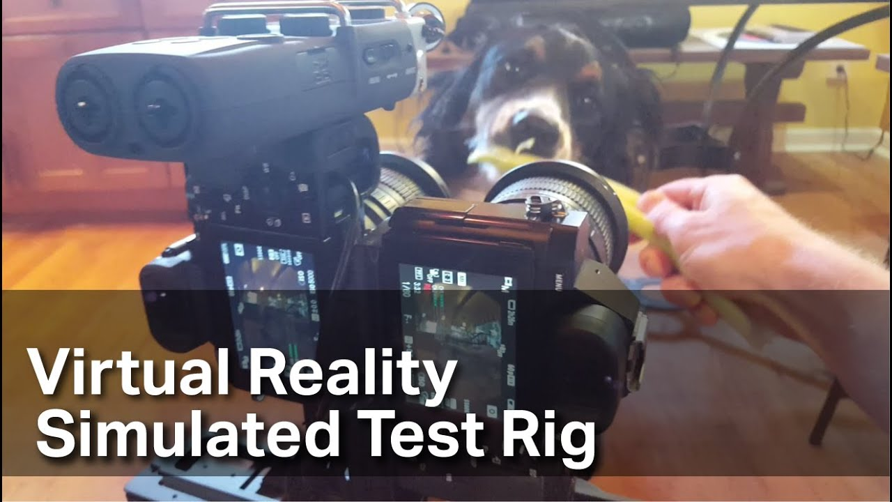 3D-Vr-Porn.net virtual reality (vr) porn simulated 180 degree 3d test rig sfw - tutorial  coming soon