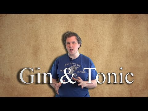 The origin of the Gin and Tonic: A literal anti-malaria Cocktail