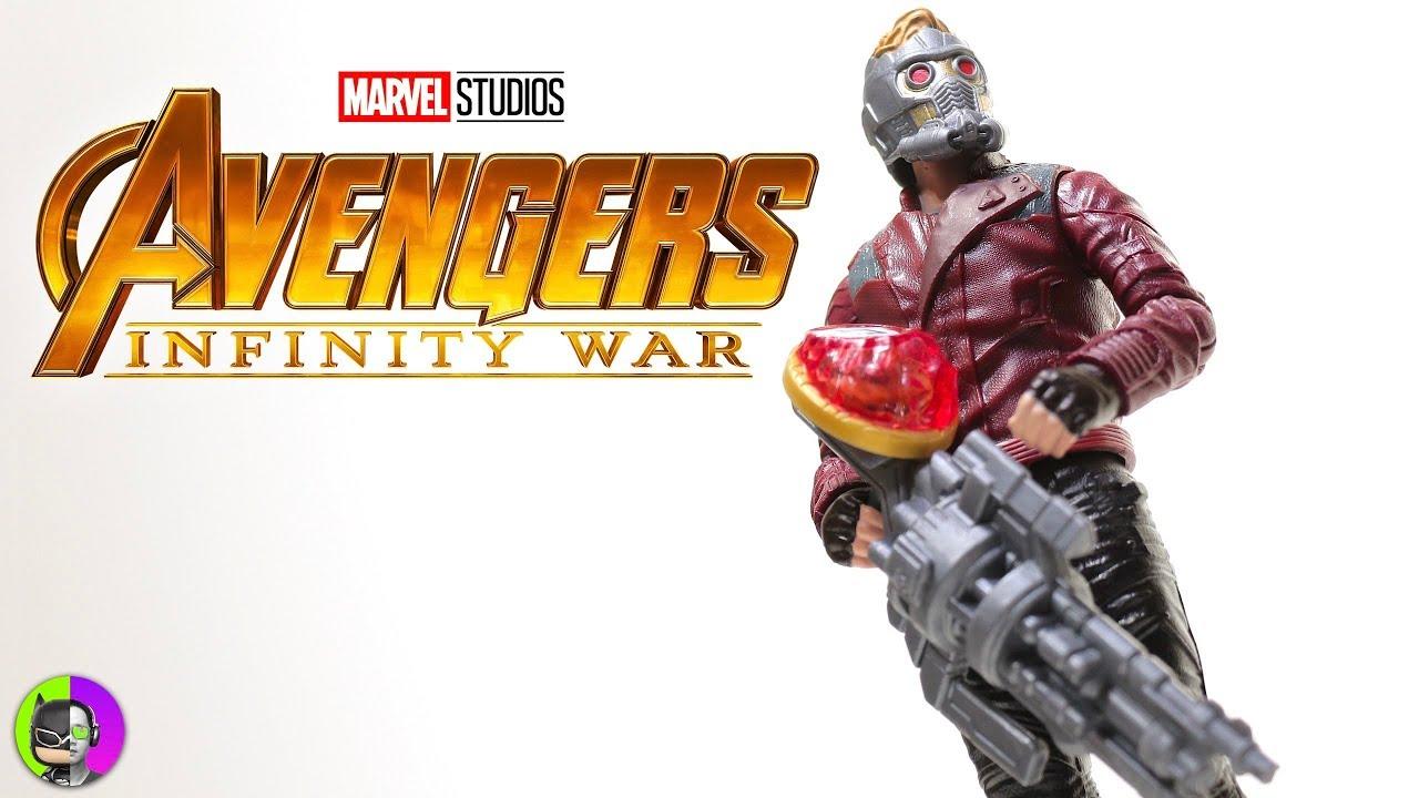 Avengers Infinity War Action Figure Star Lord Hasbro