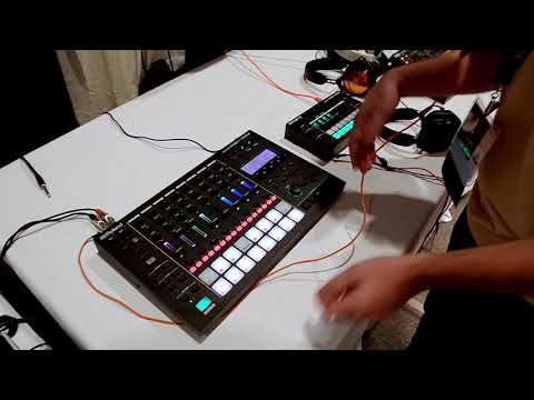 Roland MC-707 Hands-On Demo At Knobcon 2019