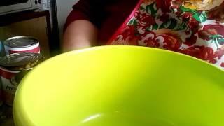 Салат Минутка Постный Очень Вкусный и Быстрый
