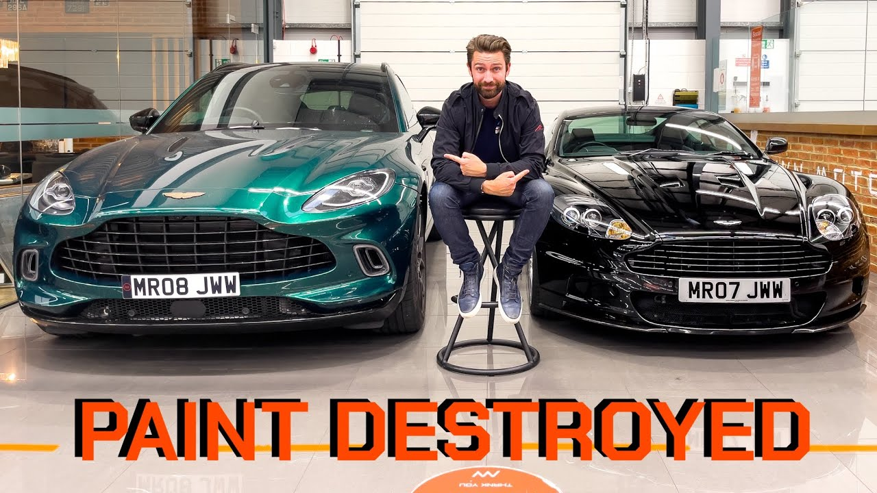RE-PAINTING My Aston Martin DBS With VALKYRIE Paint!