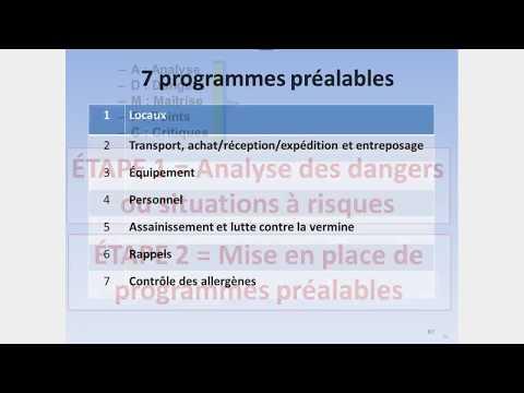 Les programmes préalables