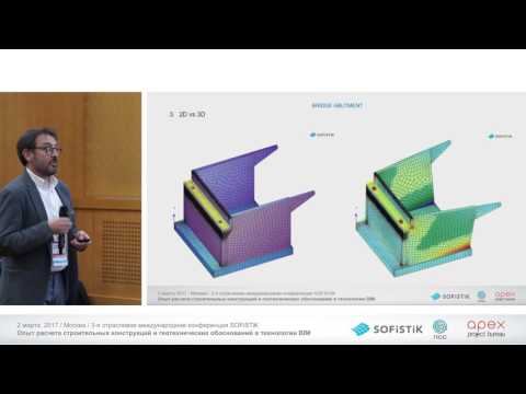 08 Overview of realized projects in Building design using SOFiSTiK software. Special view on...