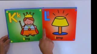 Alphabet Book / Learn the Alphabet / ABC Book / Read Aloud Book