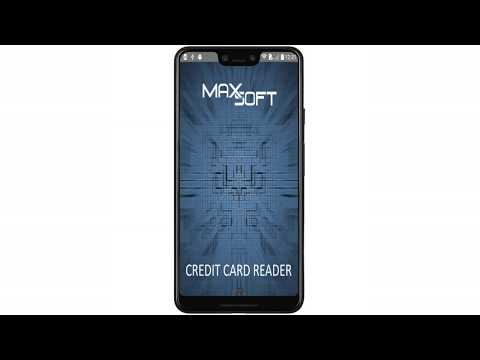 Credit Card Reader Application For Android