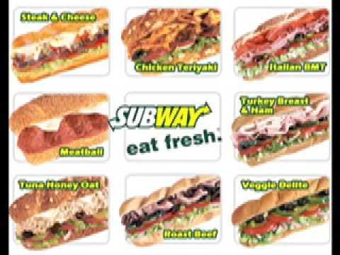 SUBWAY SANDWICHES SONG (I LOVE SUBWAY)