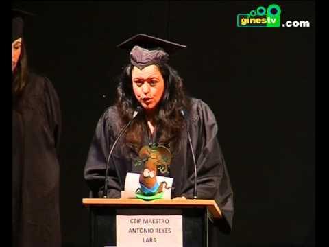 Graduación de los alumnos de 5 años del colegio Maestro Antonio Reyes Lara de Gines (COMPLETO)